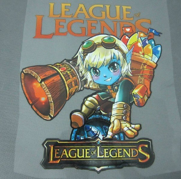 League of legends Iron On