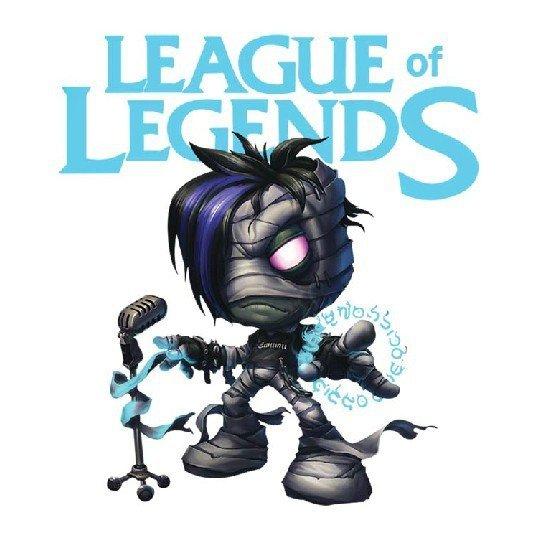 League of legends Iron heat press vinyl
