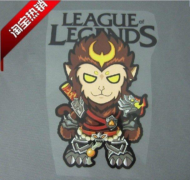LOL heat transfer sticker for Tshirt