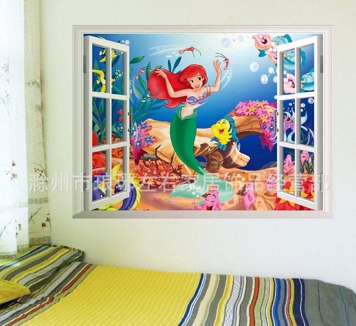 The Little Mermaid Wall sticker