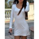 White Sleek Dress