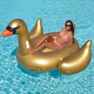 Swan Inflatable Float Gold