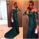Green Sleeveless Prom Dress