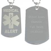 Medical Alert Dog Tag