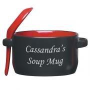 Black-n-Red 12oz. Soup Mug'n Spoon