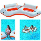 Two Person Lounge Float with Cooler
