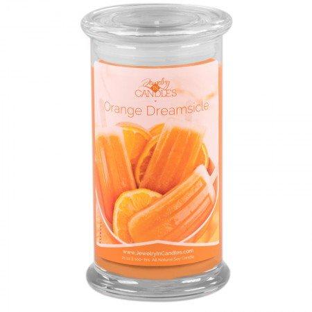 Orange Dream slice Candle