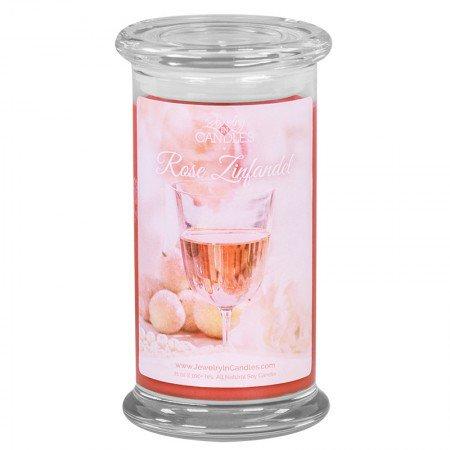 Rose Zinfandel Candle
