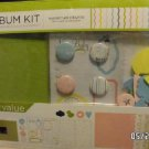 american crafts baby album scrapbook kit