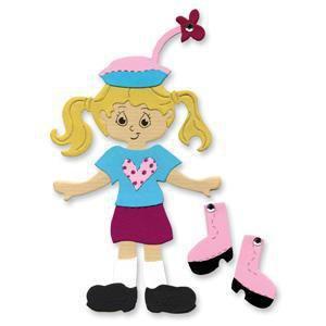 Sizzix Bigz Die - Dress Ups Teen Girl Outfit