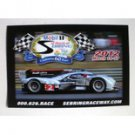 2012 60th Anniversary 12 Hours of Sebring Magnet Audi R18 E-Tron