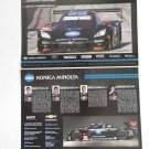 2015 IMSA Konica DP Corvette Team Hero Card