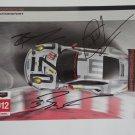 Autographed Porsche Motorsports Racing Team Hero Card