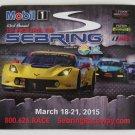 2015 Corvette GT2 12 Hours of Sebring Race Magnet