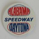 Vintage Nascar Alabama Daytona Speedway Button