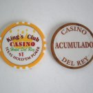 San Jose Costa Rica Kings Club Poker Room Casino Chip