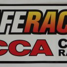 SCCA Safe Racer Club Racing Sticker Sports Car Club of America
