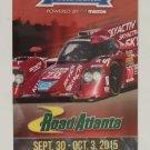 2015 Petit Le Mans Ticket