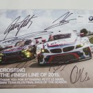2015 Autographed BMW RLL Racing Team Hero Card