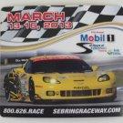 2013 Mobil1 12 Hours of Sebring Magnet Corvette GT IMSA