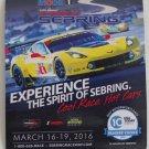 2016 Mobil1 12 Hours of Sebring Magnet Corvette GT2 IMSA