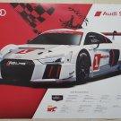 2016 Audi Sport R8 GTLM Poster Audi Racing WEC Le Mans Audi Poster