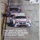 1975-2015 BMW North America 40 Years Poster Z4 GTLM IMSA BMW Racing