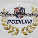 PCA Club Racing Porsche Club of America Podium Sticker Porsche Racing