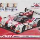 2016 IMSA Honda HPD Michael Shank Racing Team Hero Card Honda Racing