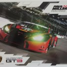 2016 IMSA Paul Miller Racing Lamborghini Huracan GT3 Team Hero Card Lamborghini Racing