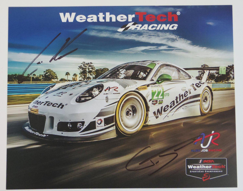 2016 Autographed Alex Job Weather Tech Porsche Racing Team