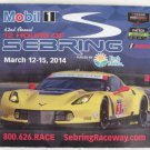 2014 Hours of Sebring Race Magnet Corvette