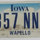 2005 Iowa Graphic License Plate
