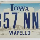 05 Iowa Graphic License Plate