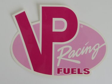 Pink VP Racing Fuels Sticker