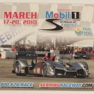 2010 12 Hours of Sebring Magnet Audi R8
