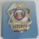 Hero's Pride Security Guard Hat Badge