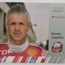 Dindo Capello Audi R15 Audi Sport Team Joest Hero Card Audi IMSA Racing