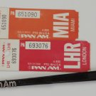Pan Am Luggage Tags