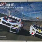 BMW Team RLL 2017 Rolex 24 at Daytona Poster BMW M6 Racing