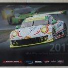 2017 IMSA WeatherTech Sportscar Championship Poster Porsche 911 GT3 R