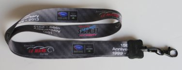 ALMS American Le Mans Lanyard for ID Cards Tickets