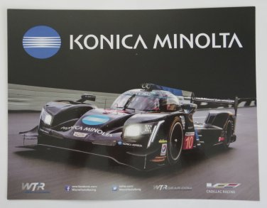 2017 Wayne Taylor Racing Cadillac DPi VR IMSA Photo Hero Card WTSC