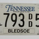 Tennessee Handicap License Plate