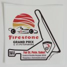 2017 Firestone Grand Prix of St. Petersburg Sticker