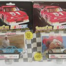 Racing Champions Bobby Allison and Dave Marcis Nascar Die Cast Cars