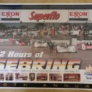 Vintage 1998 12 Hours of Sebring Race Poster