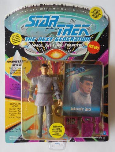 Star Trek Next Gen Ambassador Spock Action Figure