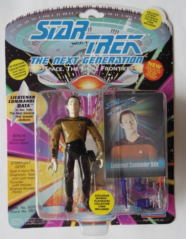 Star Trek Next Gen DATA Action Figure
