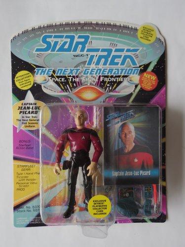 Star Trek Next Gen Captain Jean-Luc Picard Action Figure